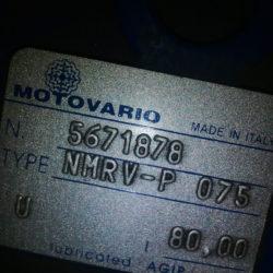 Червячный редуктор NMRV-P 075 i-80
