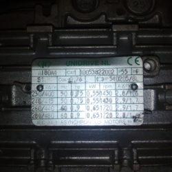 Шильдик электродвигателя