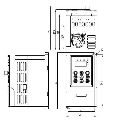 Easydrive ED3100 габаритные размеры s-mini