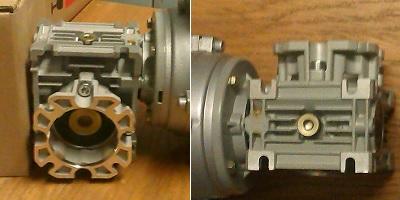 Фланец редуктора NMRV 030 FA