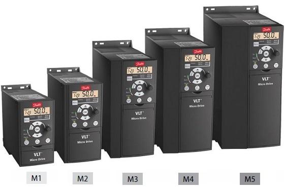 Габаритные размеры частотного преобразователя vlt micro drive