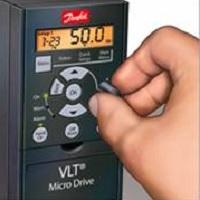 Пульт для частотника Danfoss fc 051 код: 132B0101